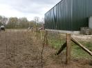 Rastering en aanplanting corsoterrein april 2012